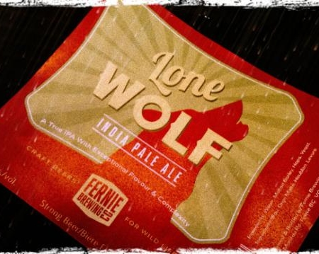 Fernie Lone Wolf IPA Coming Later This Month