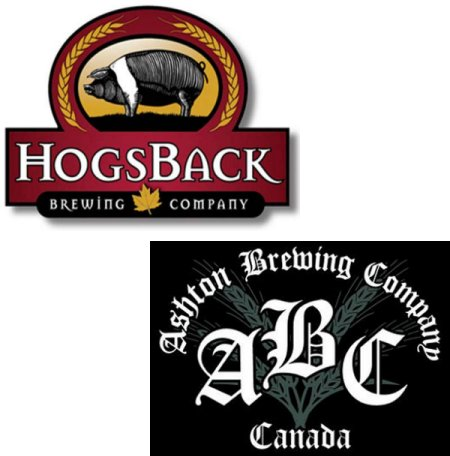 HogsBack Brewing & Ashton Brewing Announce Partnership