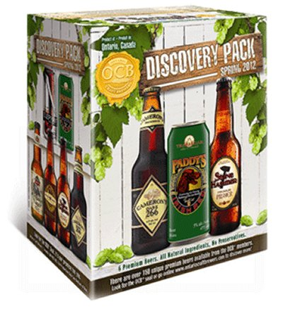 Ontario Craft Brewers Announce Spring 2012 Discovery Pack