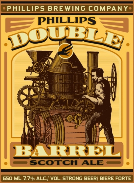 Phillips Releases 2012 Edition of Double Barrel Scotch Ale