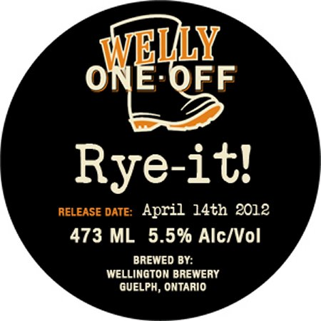 Wellington Continues Welly One-Off Series With Rye-It!