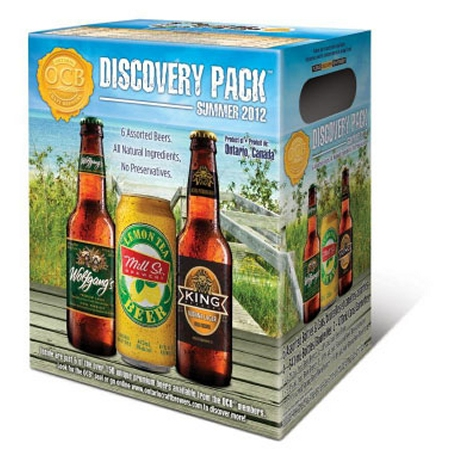 Ontario Craft Brewers Announce Latest Discovery Pack as OCB Week 2012 Kicks Off