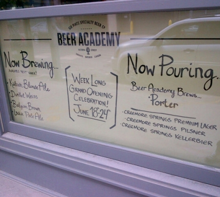 Six Pints Beer Academy Officially Opens This Week