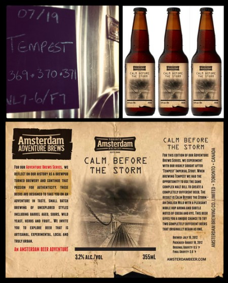 Amsterdam Adventure Brew Series Continues With Calm Before The Storm
