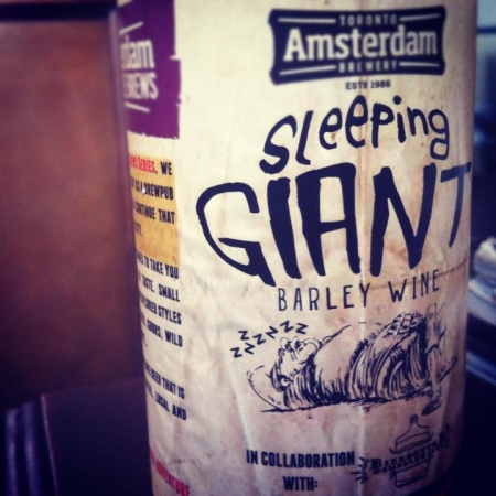 Amsterdam Adventure Brew Series Continues With Sleeping Giant Barley Wine