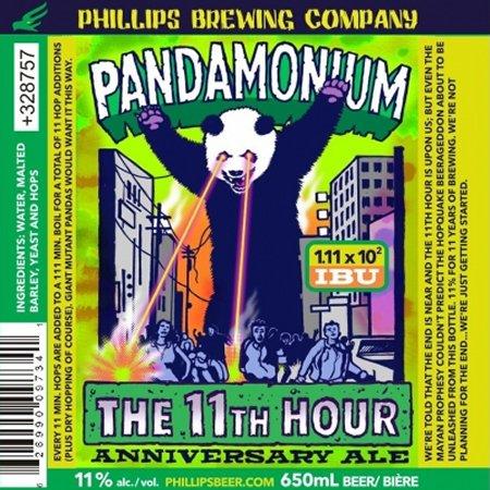 Phillips Marks 11th Anniversary With Pandamonium Double IPA
