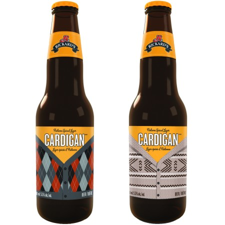 Rickard's Cardigan To Be Released as First Seasonal Rickard's Brand