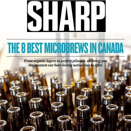 Sharp Magazine Picks Canada's Best Microbrews