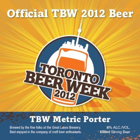 Metric Porter Announced as Official Beer of Toronto Beer Week 2012