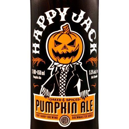 Fort Garry Brewmaster Series Continues With Happy Jack Pumpkin Ale