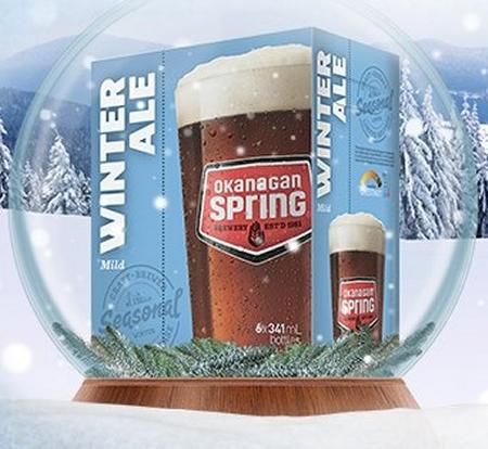 Okanagan Spring Launches Mild Winter Ale As Latest Seasonal