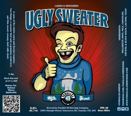 Parallel 49 Ugly Sweater Milk Stout Coming This Week