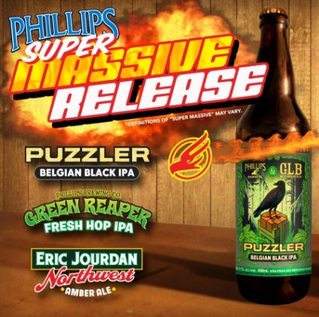 Phillips Announces Super Massive Release To Mark BC Craft Beer Month
