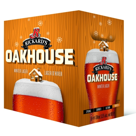 Rickard's Expands Seasonal Line-Up With Oakhouse Winter Lager