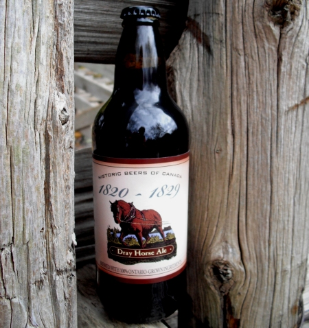 Black Creek Continues Historic Beers of Canada Series With Dray Horse Ale