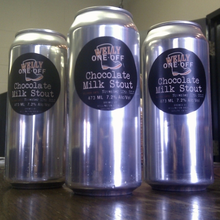 Wellington Chocolate Milk Stout Released as Latest Welly One-Off