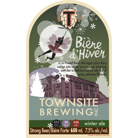 Townsite Limited Edition Biere d'Hiver Returns