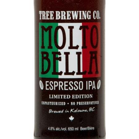 Tree Brewing & Giobean Espresso Bring Back Molto Bella Espresso IPA