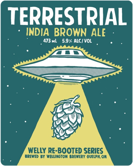 Wellington Bringing Back Terrestrial India Brown Ale for Another Limited Run