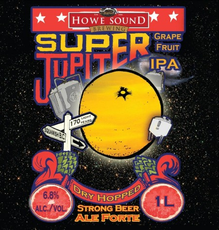 Howe Sound Announces Super Jupiter IPA as Spring Seasonal