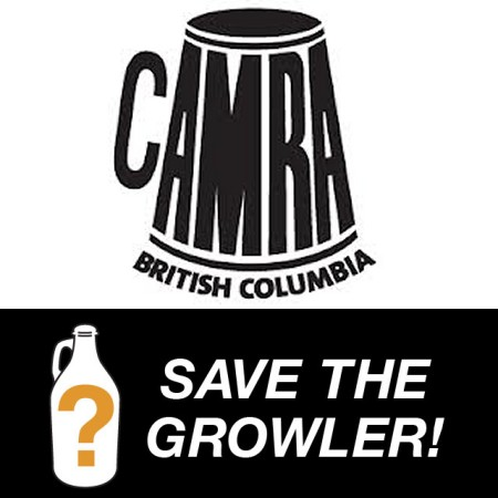 CAMRA BC Leads Movement Against Increased Tax on Growlers