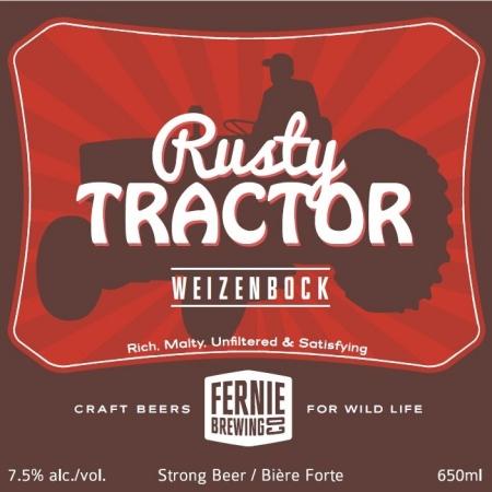 Fernie Rusty Tractor Weizenbock Coming Soon