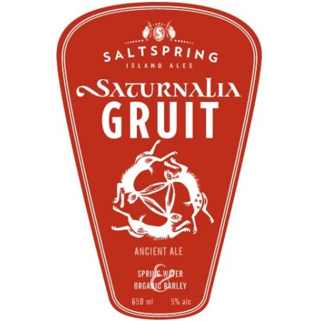 Salt Spring Island Saturnalia Gruit & Creme Brulee Milk Stout Coming Soon
