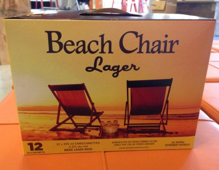 PEI Brewing Launches New Format for Beach Chair Lager