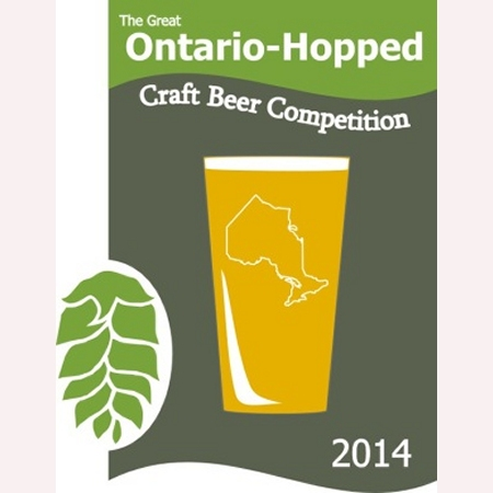 Winners Announced for 2014 Great Ontario-Hopped Craft Beer Competition