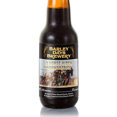 Barley Days Releases 3 Horse Hitch Schwarzbier