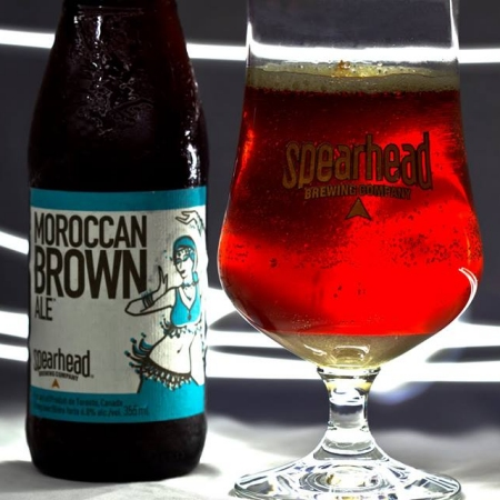 Spearhead Moroccan Brown Ale Now Available At Lcbo