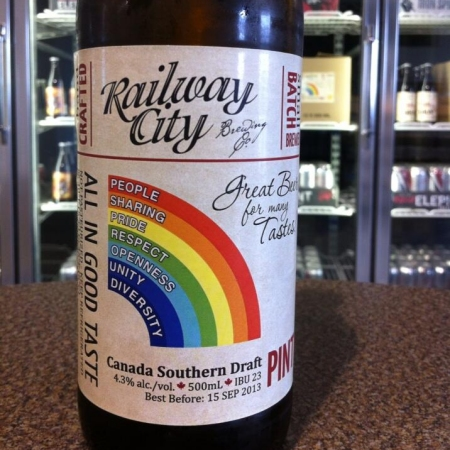 Railway City Releases Special Edition of Canada Southern Draft for Port Stanley Pridefest