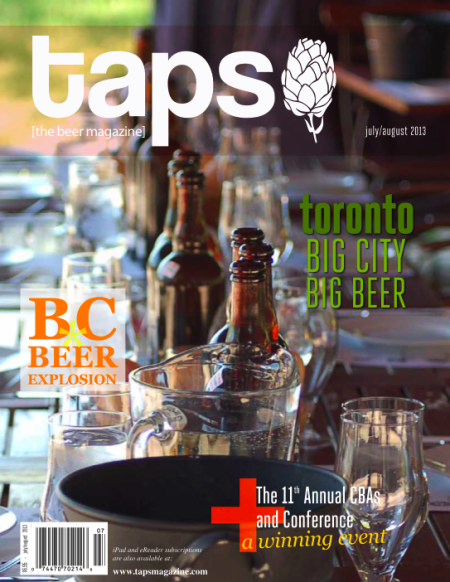 TAPS Magazine July/August 2013 Issue Now Available