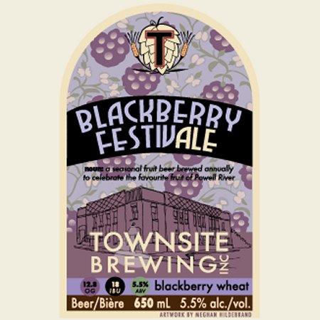 Townsite Blackberry FestivAle Returning Soon