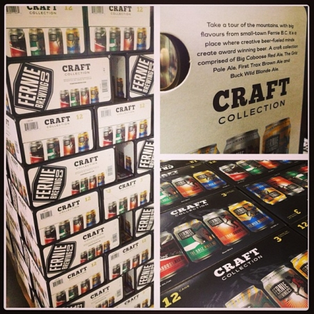 Fernie Brewing Releases New Craft Collection Mixed Pack