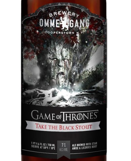 Ommegang Game of Thrones Take the Black Stout Coming to Canada This Fall