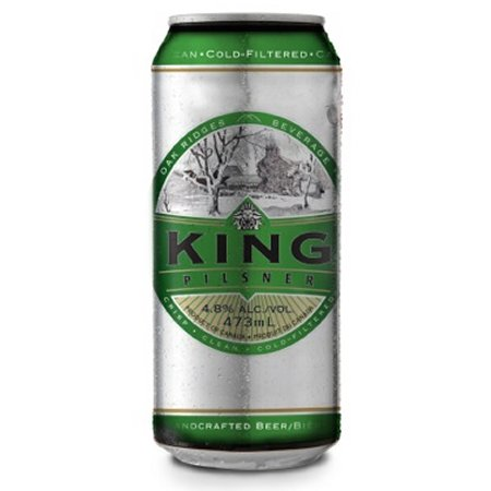 King Pilsner Now Available in Cans