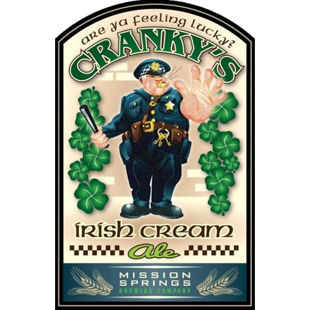 Mission Springs Cranky's Irish Cream Ale Now Available