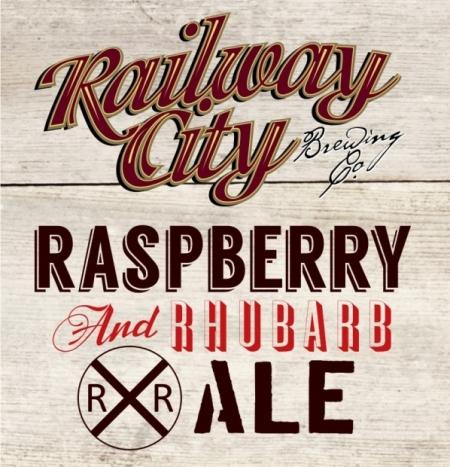 Railway City Raspberry & Rhubarb Ale Out This Thursday