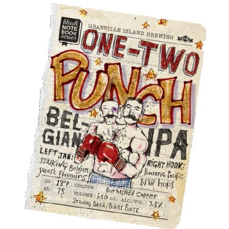 Granville Island Black Note Book Series Continues With One-Two Punch Belgian IPA