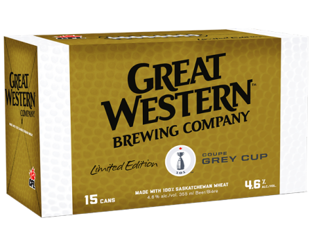 Great Western Brewing Named Official Beer Sponsor of the CFL
