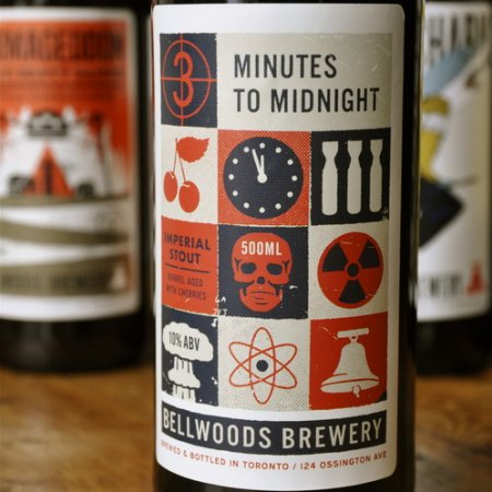Bellwoods Releases 3 Minutes To Midnight Imperial Stout