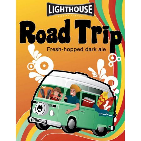 Lighthouse Releases Road Trip Fresh-Hopped Dark Ale