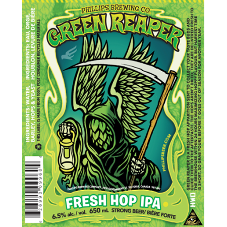Phillips Green Reaper IPA Returns for Third Annual Appearance