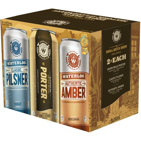 Brick Releases Waterloo Small Batch Brew Mixed Pack for Fall & Winter