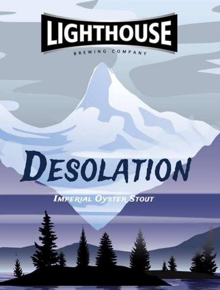 Lighthouse Desolation Imperial Oyster Stout Coming Soon