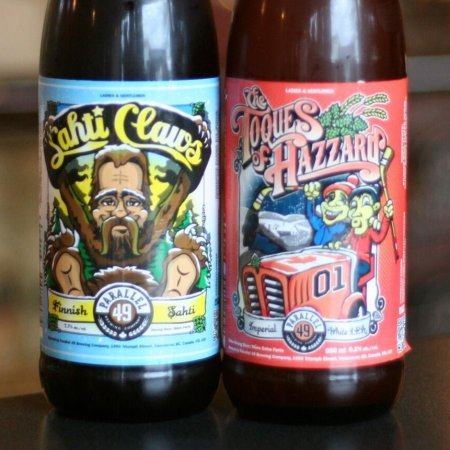 Parallel 49 Releases Two Holiday Brews