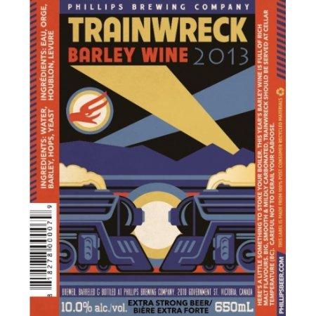 Phillips Trainwreck Barley Wine Returns for 2013
