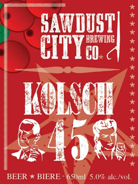 Sawdust City Launches Kolsch 45 as Holiday Seasonal