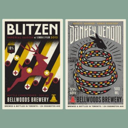 Bellwoods Blitzen & Donkey Venom to be Released in Bottles This Month